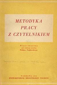 Okładka Metodyka pracy z czytelnikiem