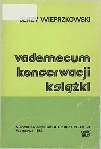 Okładka Vademecum konserwacji książki
