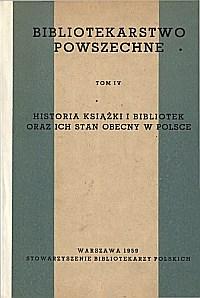 Okładka Bibliotekarstwo powszechne. Cz. 4