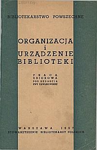 Okładka Bibliotekarstwo powszechne. Część 1