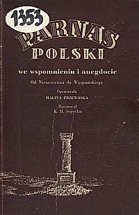 Okładka Parnas polski we wspomnieniu i anegdocie