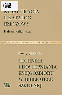 Okładka Klasyfikacja i katalog rzeczowy