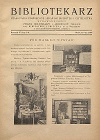 Okładka Bibliotekarz 1949, nr 5-6