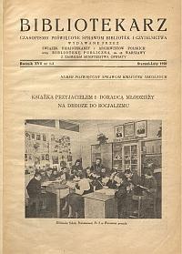 Okładka Bibliotekarz 1950, nr 1-2