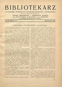 Okładka Bibliotekarz 1950, nr 5-6