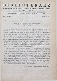 Okładka Bibliotekarz 1955, nr 6