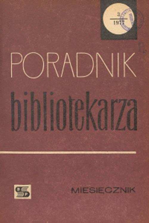 Poradnik Bibliotekarza 1977, nr 3